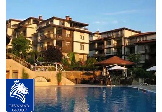 """ID349 Двухкомнатная квартира в комплексе на первой линии от моря """" Санта Марина """" в Созополе, Созополь"""