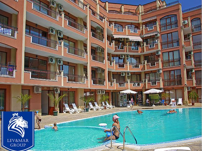"""ID13 Двухкомнатная квартира в  комплексе """" Antares complex """"  Солнечный берег"""