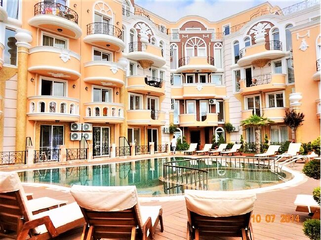 "ID982 Апартамент с одной спальней в комплексе ""Grand Mellia Resort  "" Равда<br><span style=""color: #2cbde1;"">Равда</span>"
