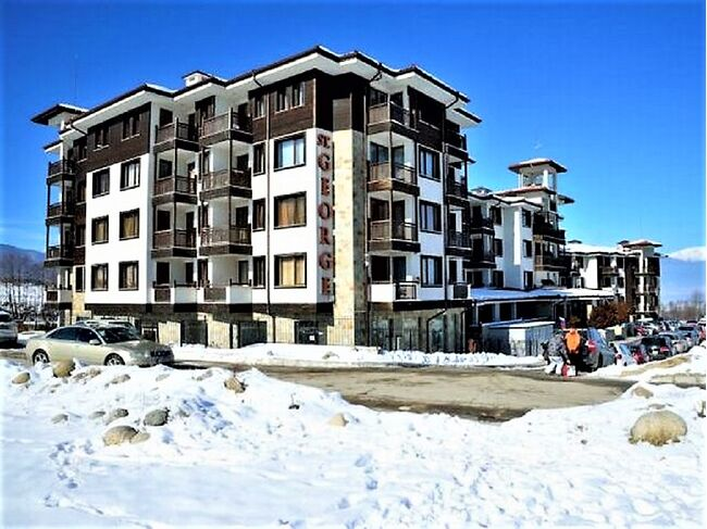 "ID971 Просторная двухкомнатная квартира в элитном комплексе "" St. George Ski & Spa "" Банско<br><span style=""color: #2cbde1;"">Банско</span>"