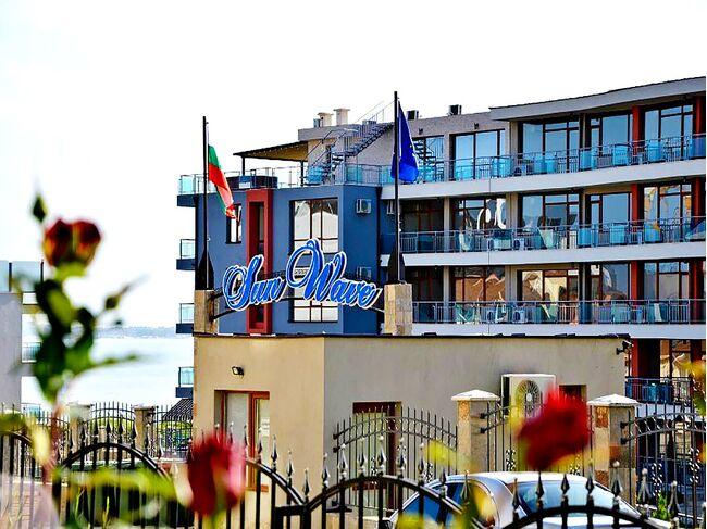 "ID721 Апартаменты в комплексе "" Сан Уэйв ""<br><span style=""color: #2cbde1;"">Святой Влас</span> фото 17"