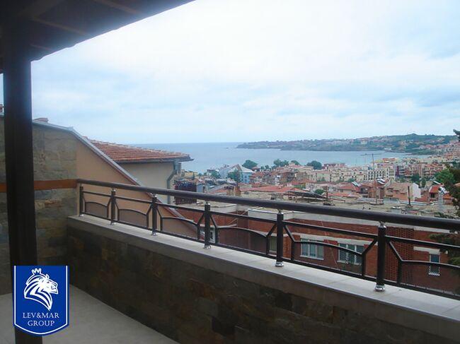 """ID252 Двухкомнатная квартира с видом на море в жилом доме без таксы поддержки в  Созополь<br><span style=""""color: #2cbde1;"""">Созополь</span>"""