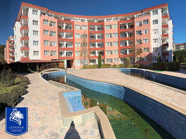 """ID282 Апартамент с одной спальней в комплексе """" Привилидж Форт Бич """" в  Елените<br><span style=""""color: #2cbde1;"""">Святой Влас</span>"""