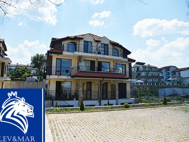 """ID329 Четырехкомнатная квартира в  комплексе"""" Вилла Сакра """" Созополь<br><span style=""""color: #2cbde1;"""">Созополь</span>"""