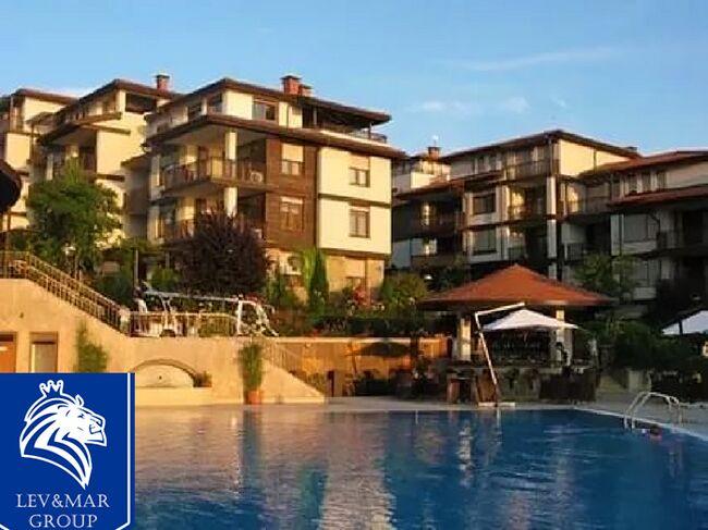 """ID349 Двухкомнатная квартира в комплексе на первой линии от моря """" Санта Марина """" в Созополе"""