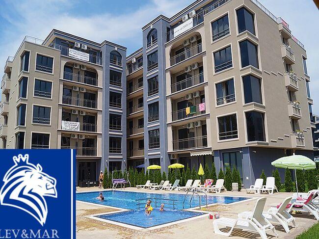 ID344Трехкомнатная квартира в комплексе Вип Классик в Солнечном береге
