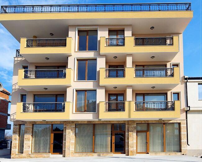 """ID740 Апартамент с одной спальней в жилом доме """" Мистрал Фемили """" Несебр<br><span style=""""color: #2cbde1;"""">Несебр</span>"""