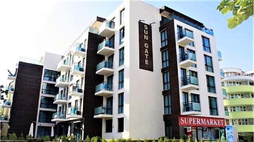 ID986 Апартамент с одной спальней в комплексе Сан Гейт