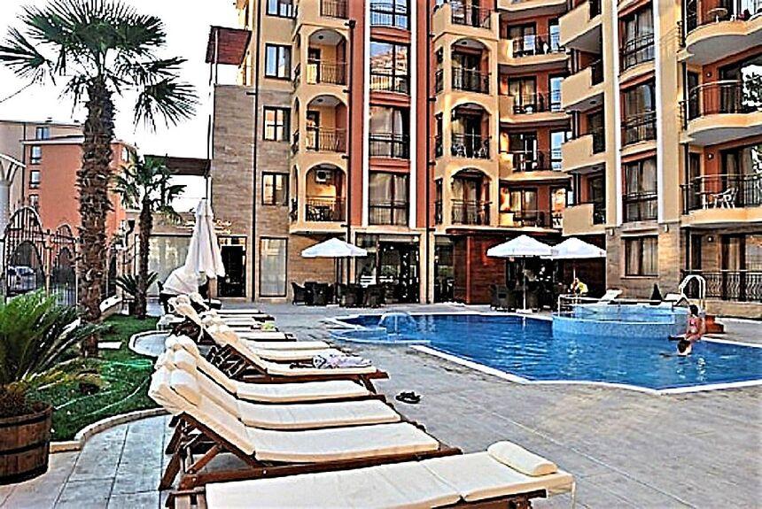 ID73 Трехкомнатная двухуровневая квартира в комплексе Harmony Suites1