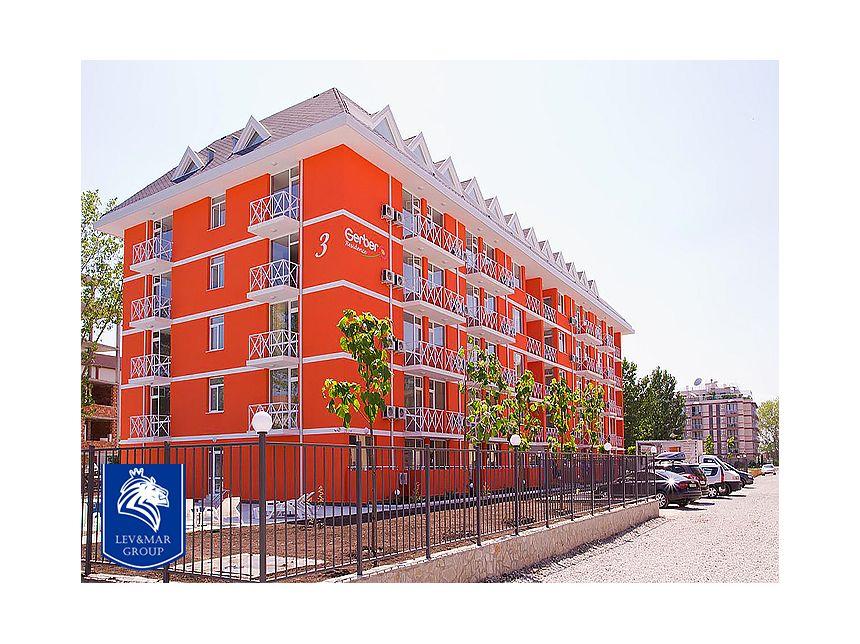 ID464 Двухкомнатная двухуровневая квартира в комплексе Гербер Резиденс 3