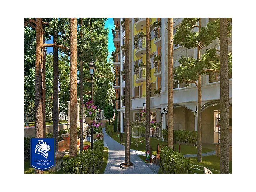 ID35 Двухкомнатная квартира в комплексе Sweet Homes 4