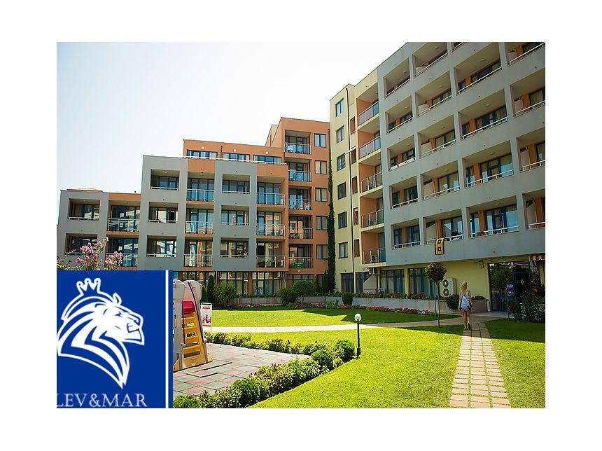 ID389 Двухкомнатная меблированная квартира в комплексе Trakia Royal Beach
