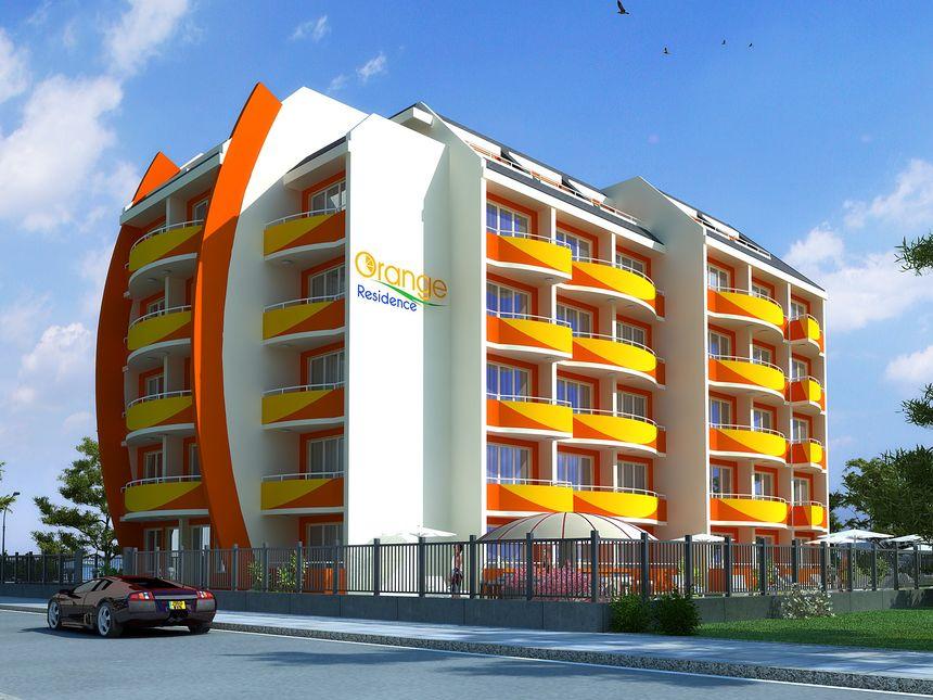 ID786 Апартаменты в комплексе Орандж Резиденс