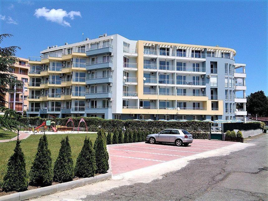 ID1202 Двухкомнатный апартамент в комплексе Кристал Палас