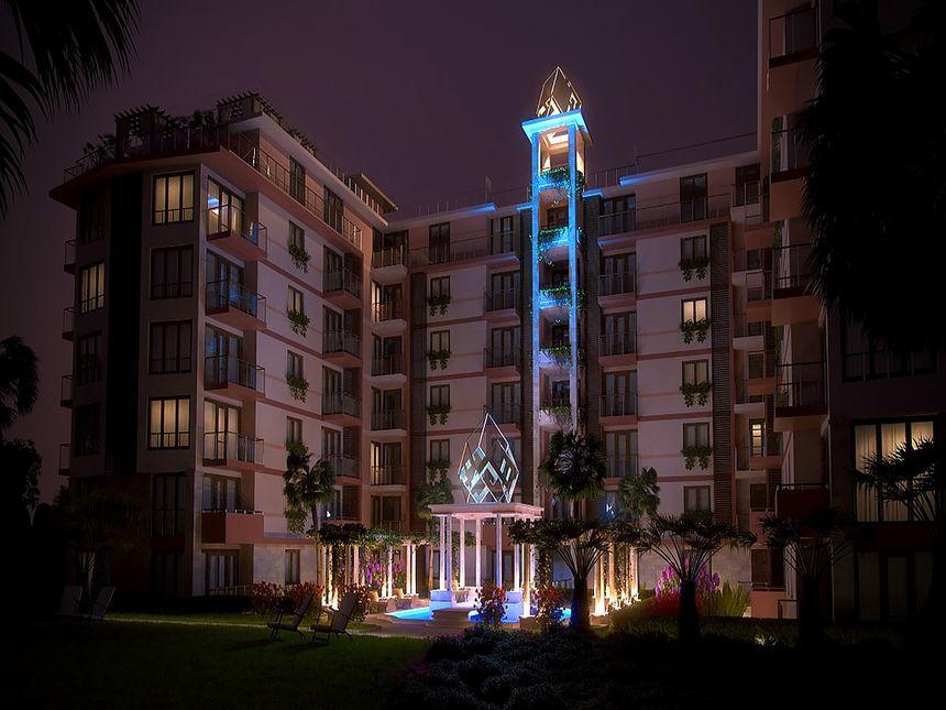 ID1756 Двухкомнатная квартира в комплексе Тарсис 2