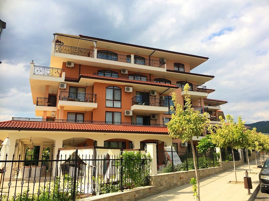 ID535 Апартамент с двумя спальнями в комплексе Костал Дримс