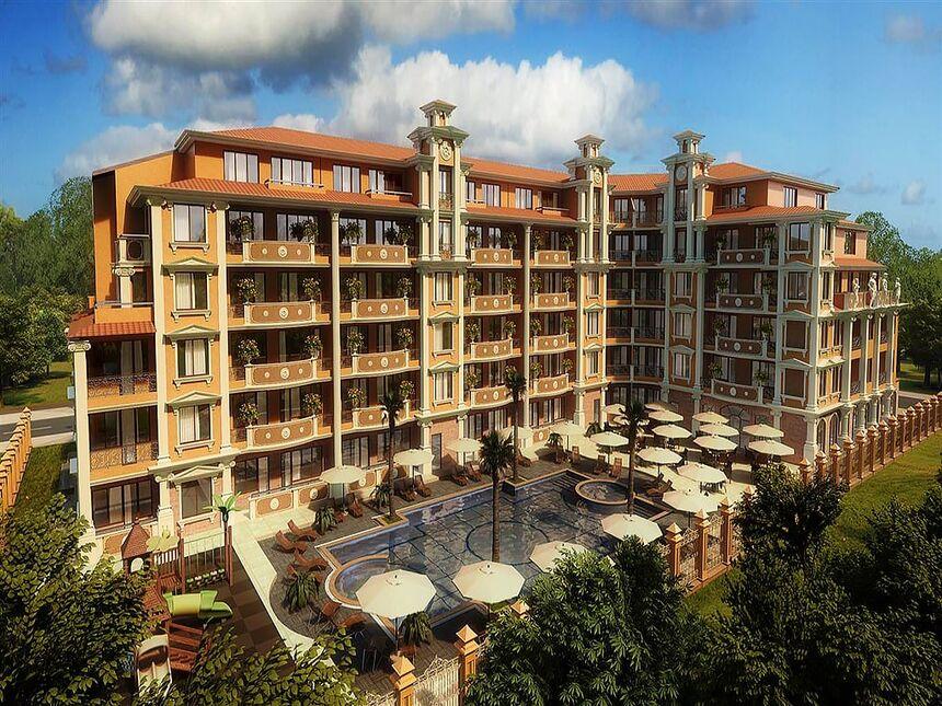 ID726 Апартаменты в комплексе Флора Бич Резорт
