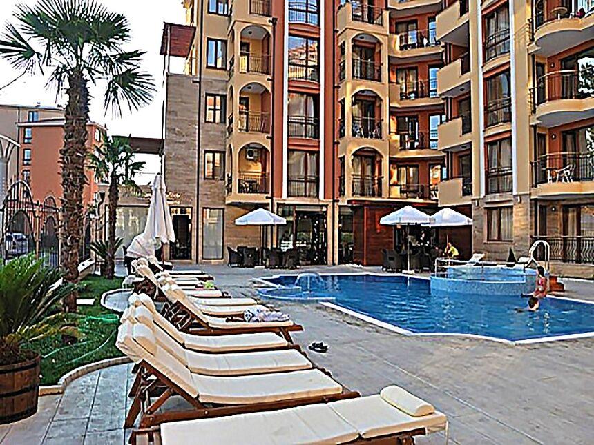 ID75 Двухкомнатная квартира в комплексе Harmony Suites 1