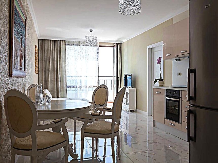 ID477 Двухкомнатный апартамент в комплексе Гранд Отель Св. Влас