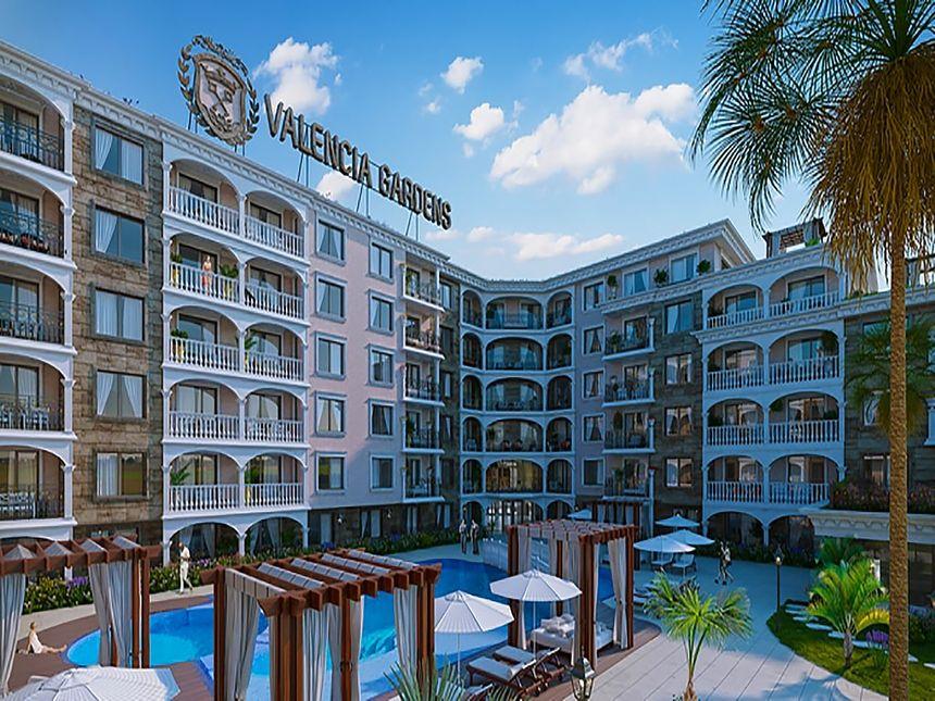ID633 Квартиры в строящемся комплексе Валенсия Гарденс